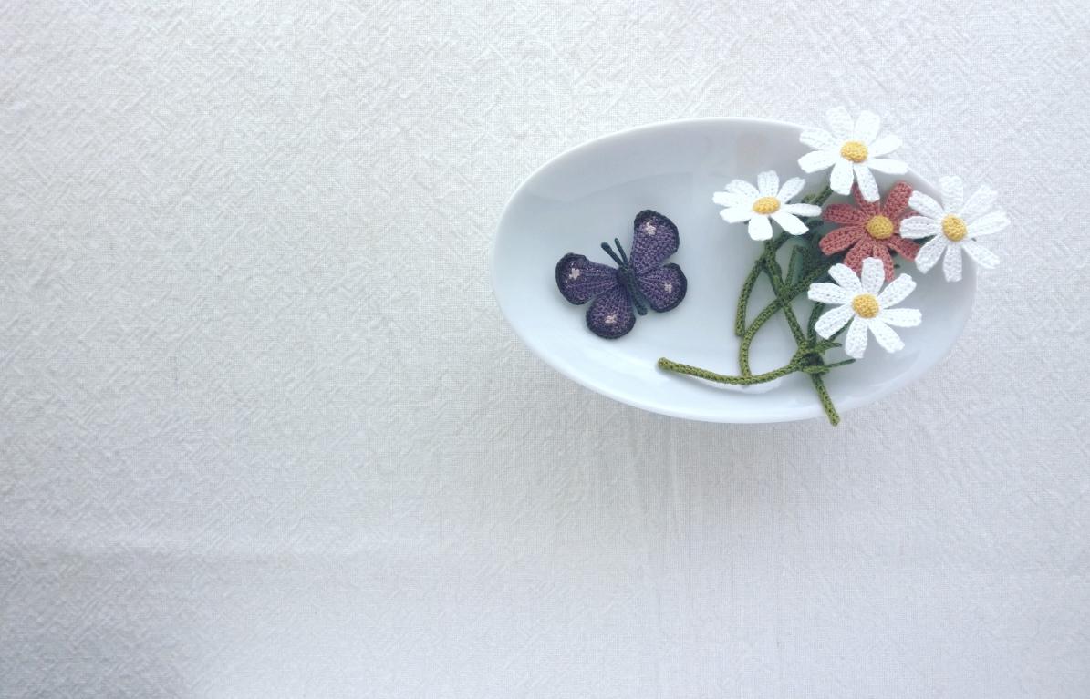 [花と鳥とときどき猫の小さなアクセサリー]展 在店日のこと
